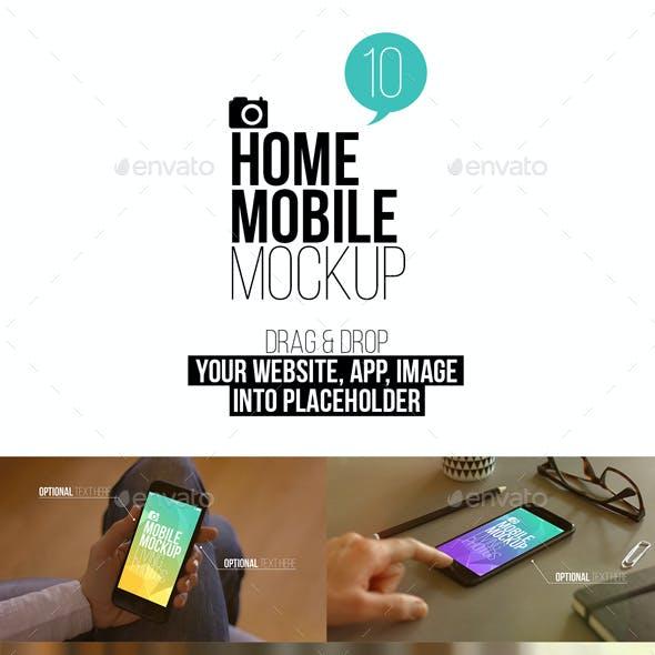 Home Mobile Mockup