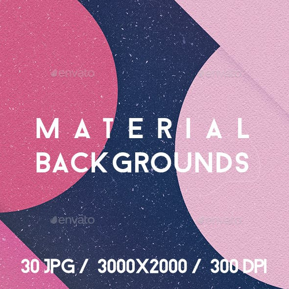 30 Material Backgrounds