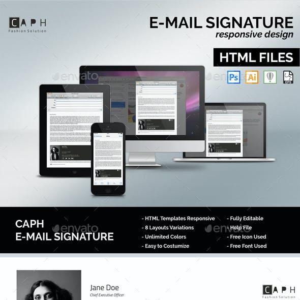 Caph - E-Mail Responsive Signature