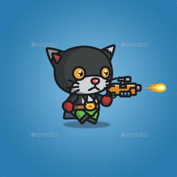 Super Hero Black Cat