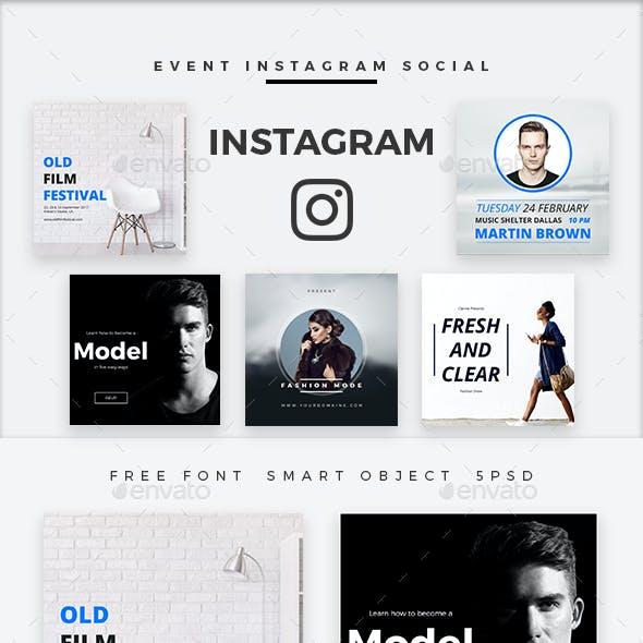 Event Instagram Social