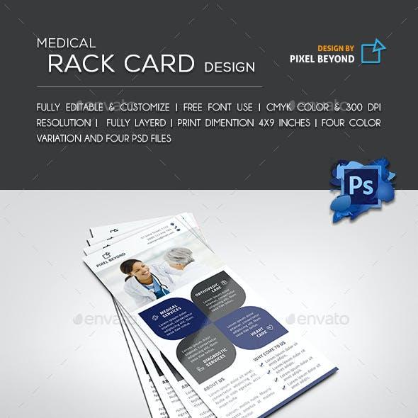 Medical Rack Card