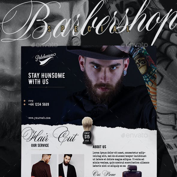 Barbershop Special Flyer