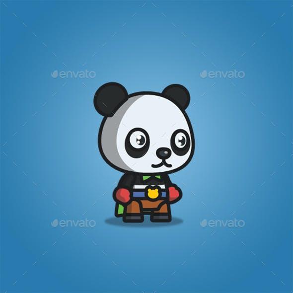 Super Hero Panda