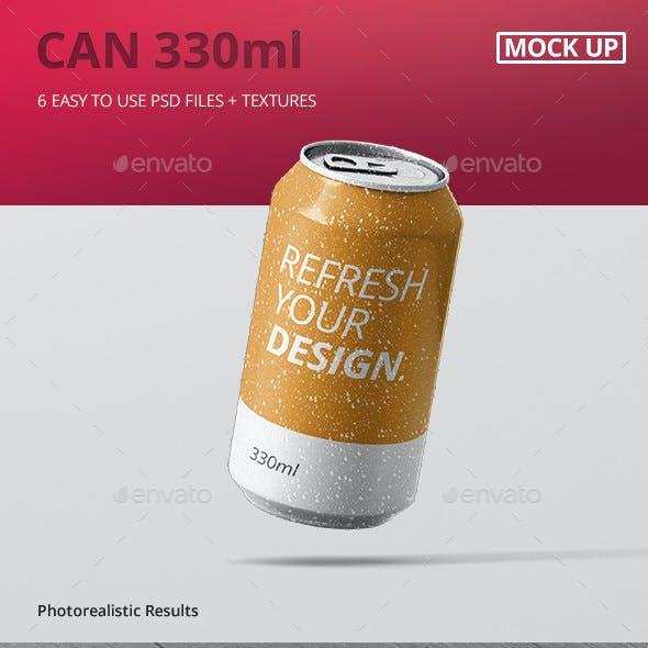 Can Mockup 330ml