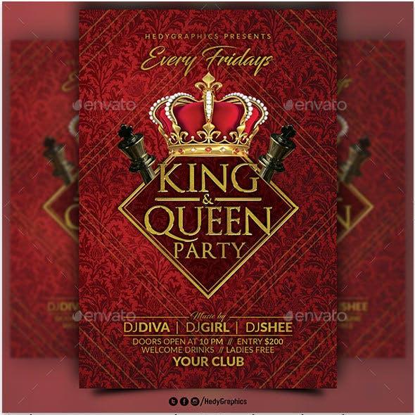 King & Queen Flyer