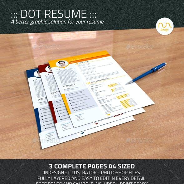 Dot Resume