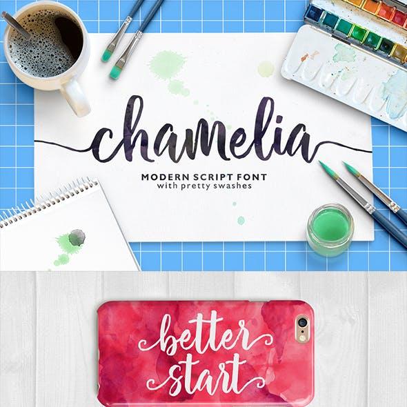 Chamelia Script