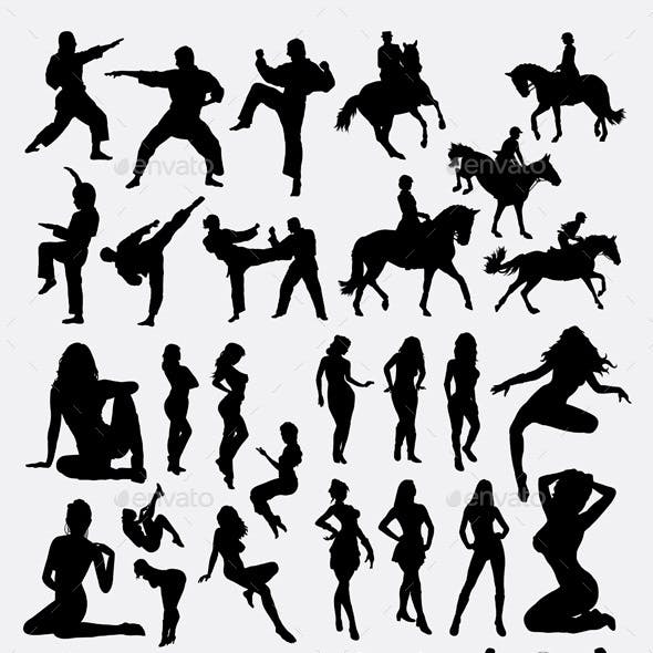 People Gesture Silhouette