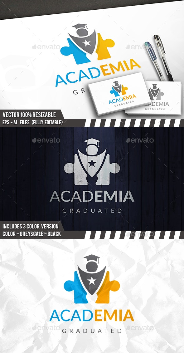 Education Logo Template - College Logo Templates