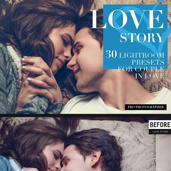 Love Story Lightroom Presets