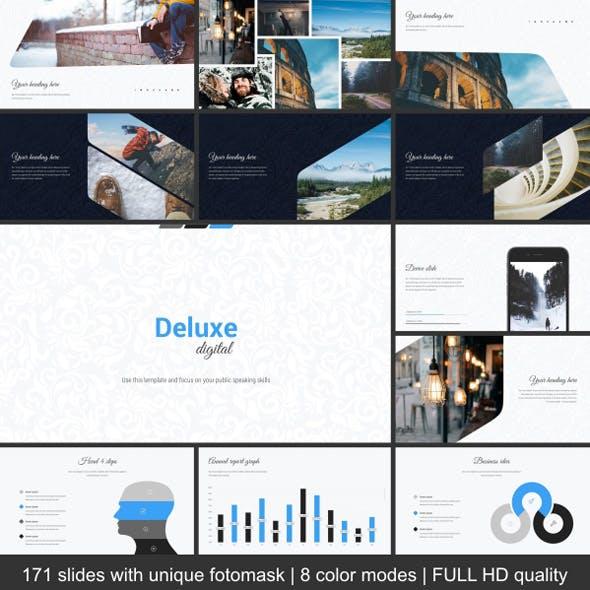 Deluxe Digital Keynote Template