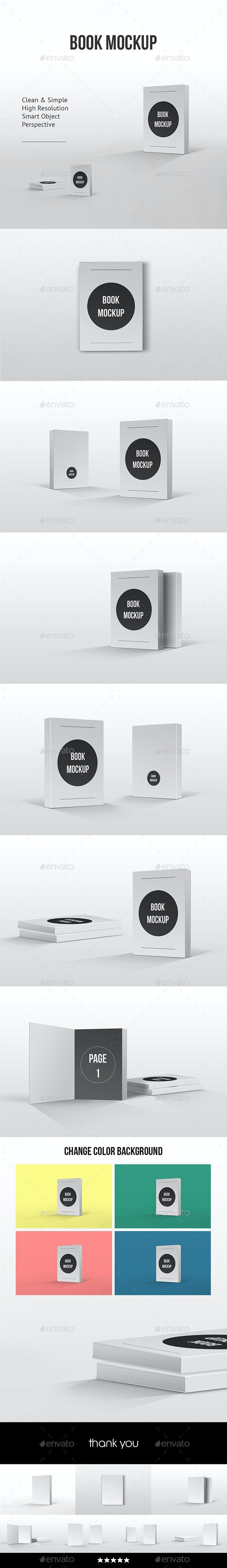 Book Mockup Clean - Books Print