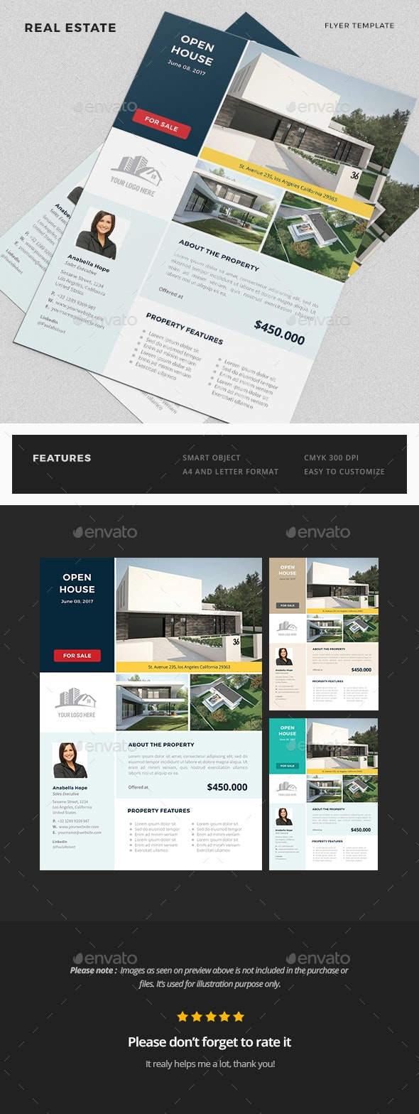 Real Estate Flyer Template - Flyers Print Templates