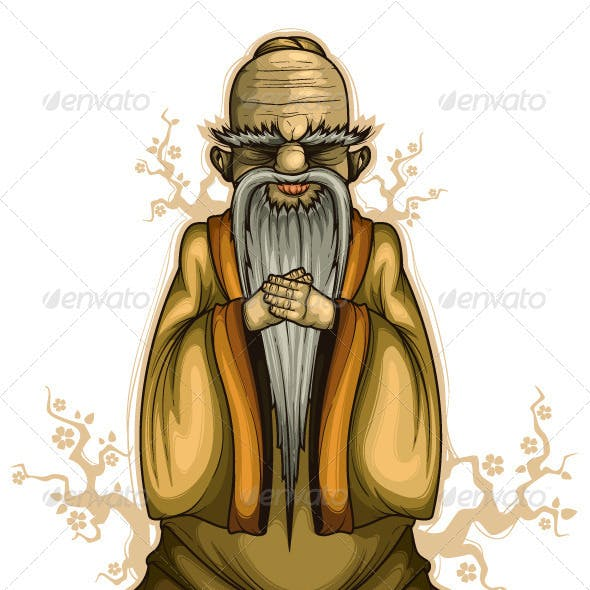 Chinese old sage