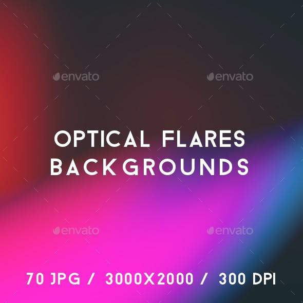 70 Optical Flares Backgrounds