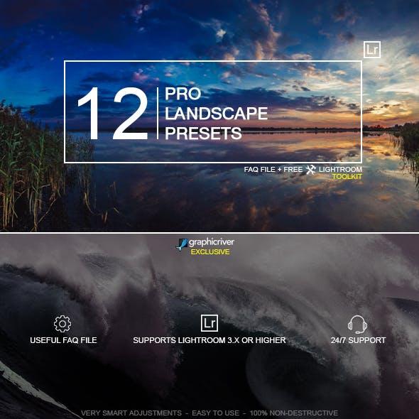 12 Pro Landscape Presets