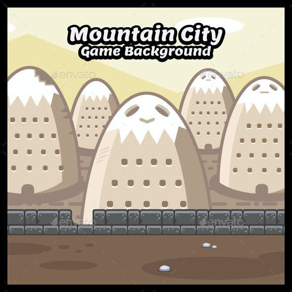 Mountain City Game Background