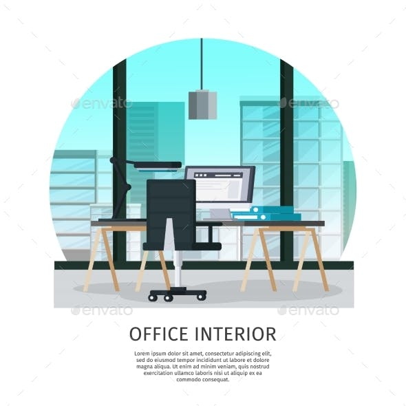 Office Interior Template