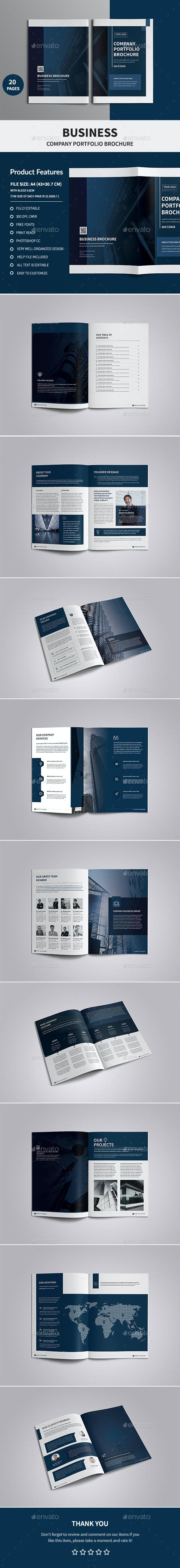 Corporate Company Profile Brochure - Corporate Brochures