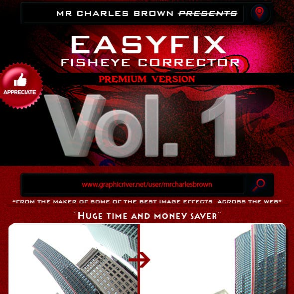Lens Correction Graphics, Designs & Template from GraphicRiver