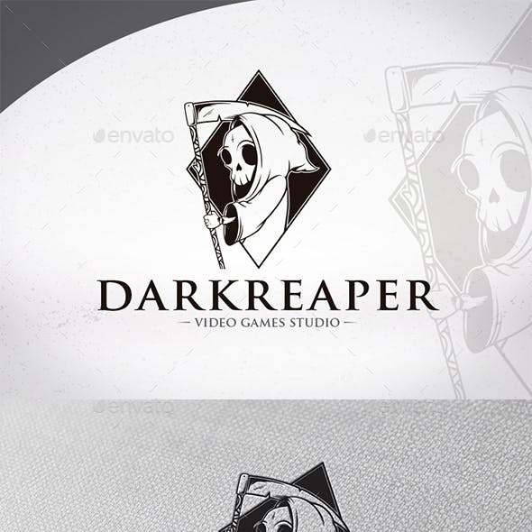 Dark Reaper Logo Template