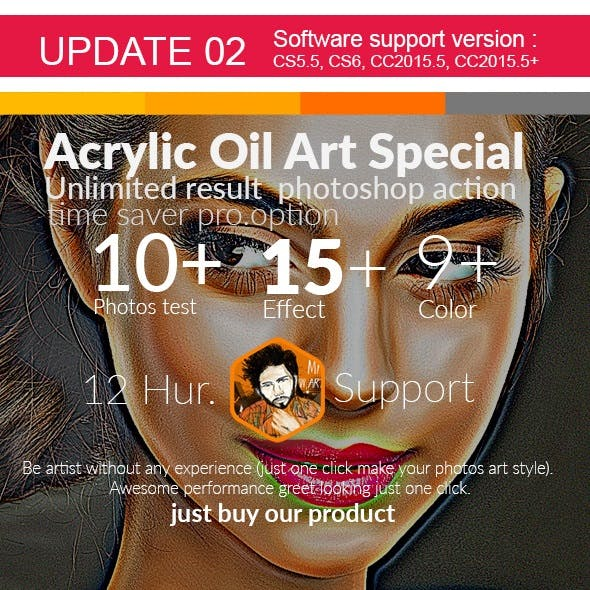 Acrylic Oil Art Special Action