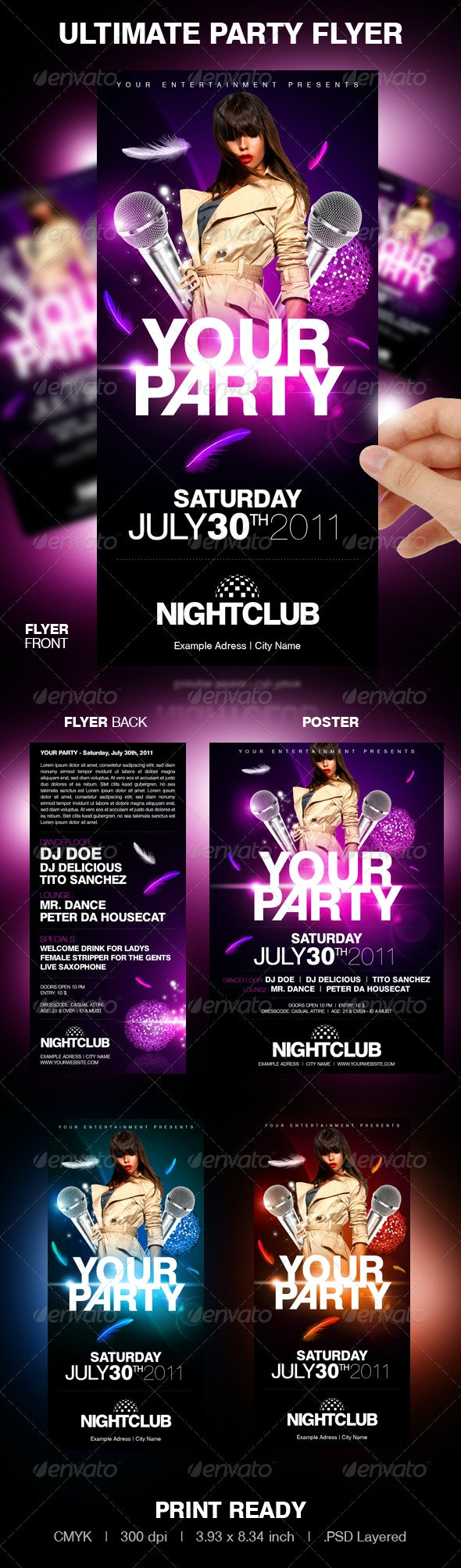 Ultimate Party Flyer - Clubs & Parties Events