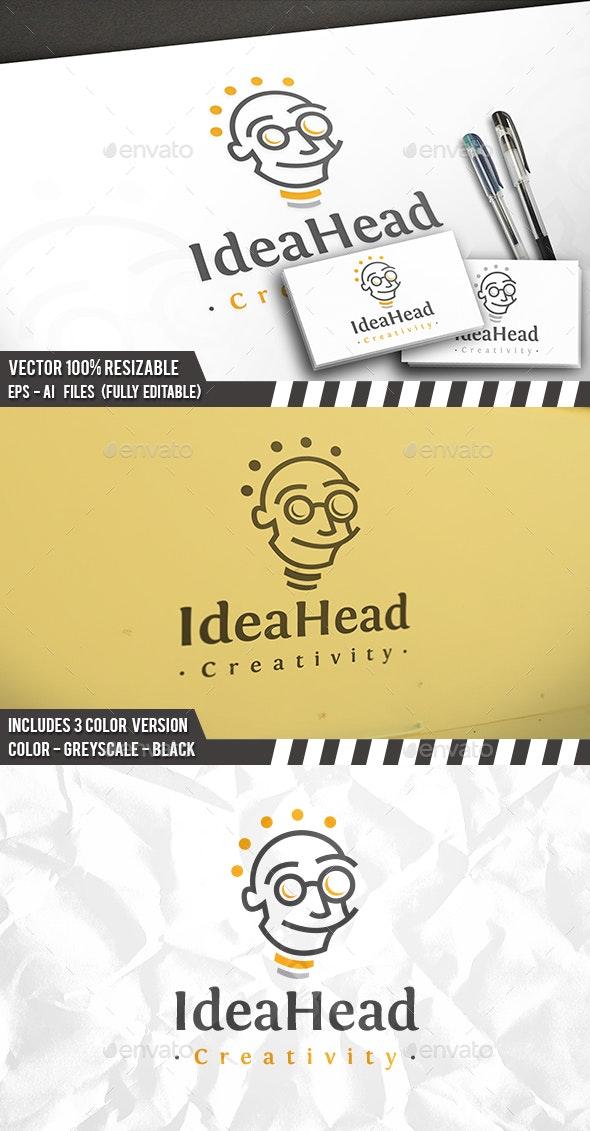 Idea Head Logo