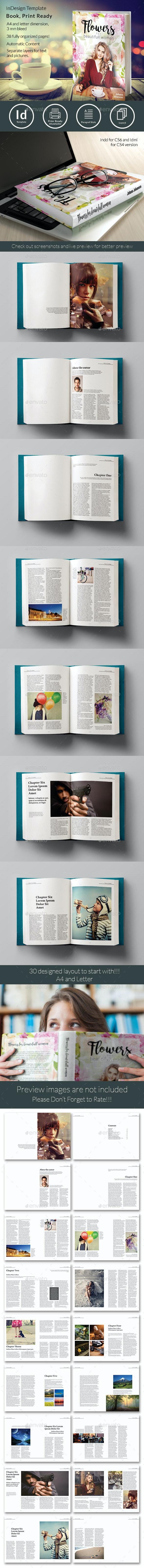 Book Template - Magazines Print Templates