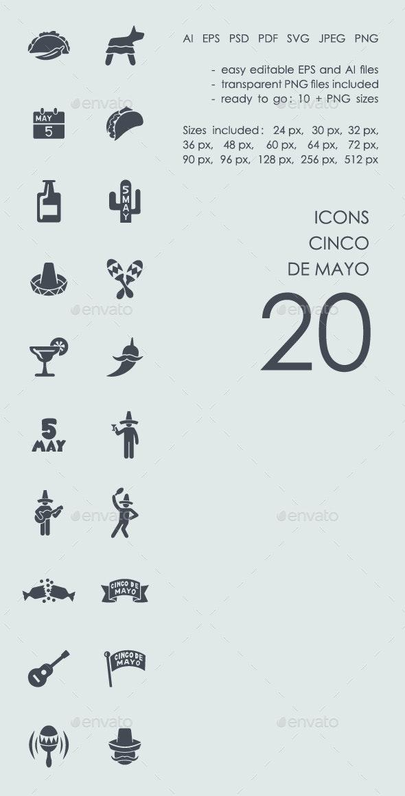 Cinco de Mayo Icons