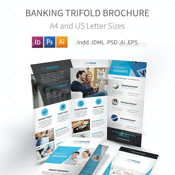 Banking Trifold Brochure