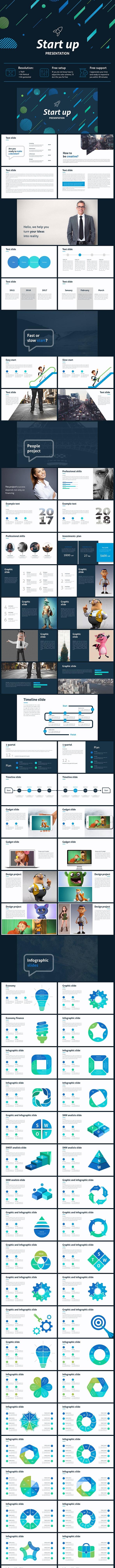 Start up Powerpoint Template - Business PowerPoint Templates