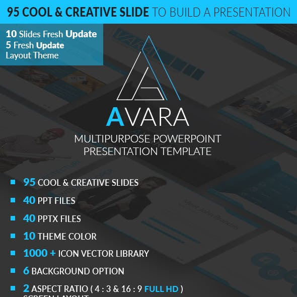 AVARA 1.0 - Investor Presentation Template