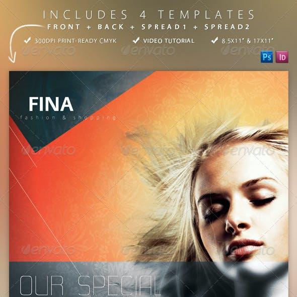 Fina Brochure - Fashion&Shopping 4 Templates
