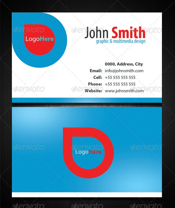 Particle Designer Card - Corporate Business Cards