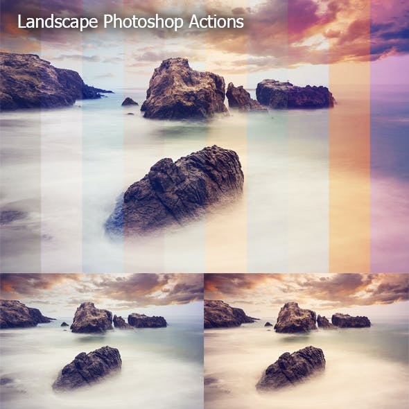 Landscape Ps Actions