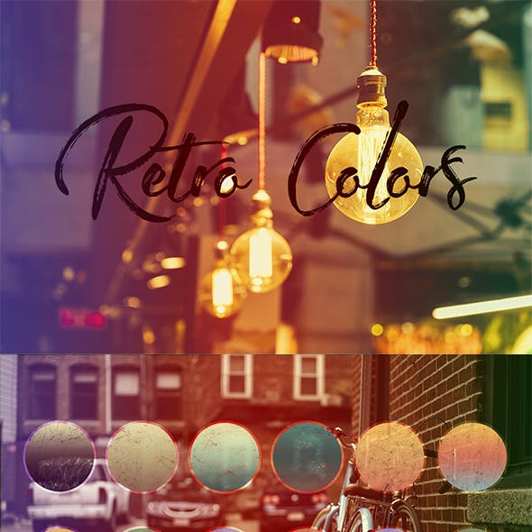 Retro Colors Gradients