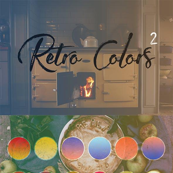 Retro Colors Gradients #2