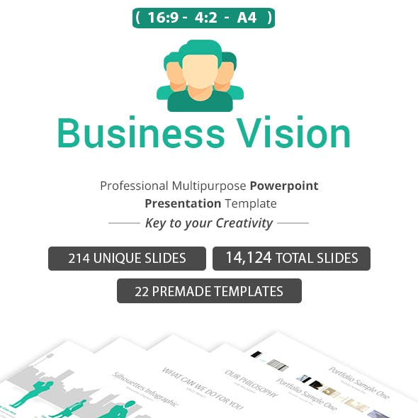 Business vision PowerPoint Presentation Template