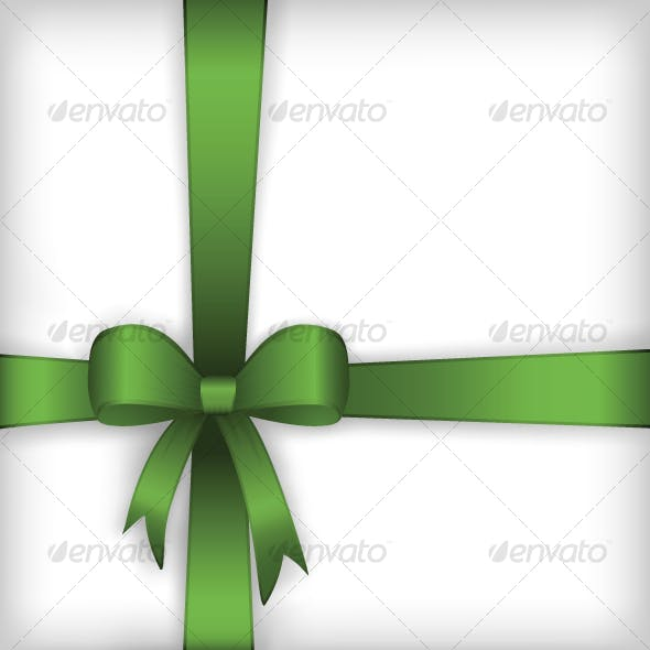 Gift box ribbon