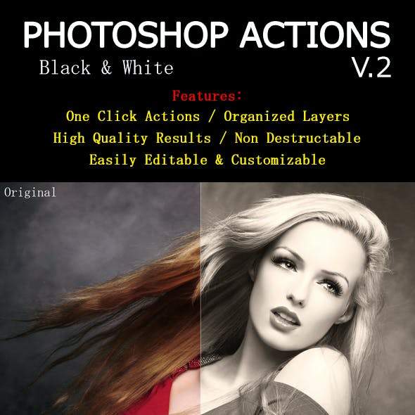 Photoshop Actions V.2