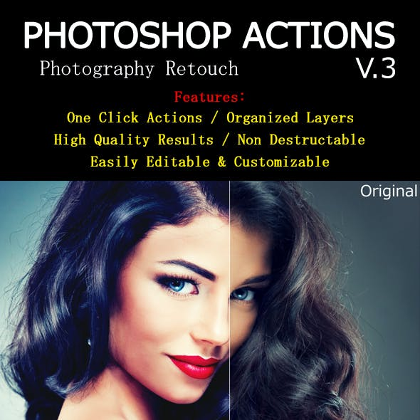 Photoshop Actions V.3