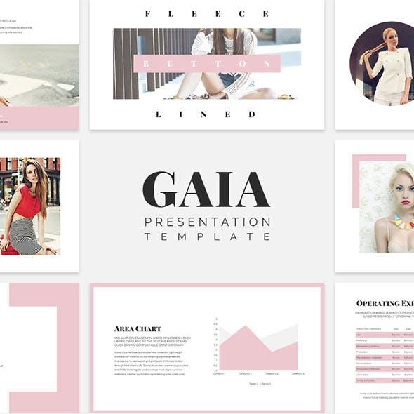Gaia Keynote Presentation
