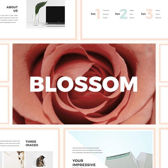 Blossom Keynote Template