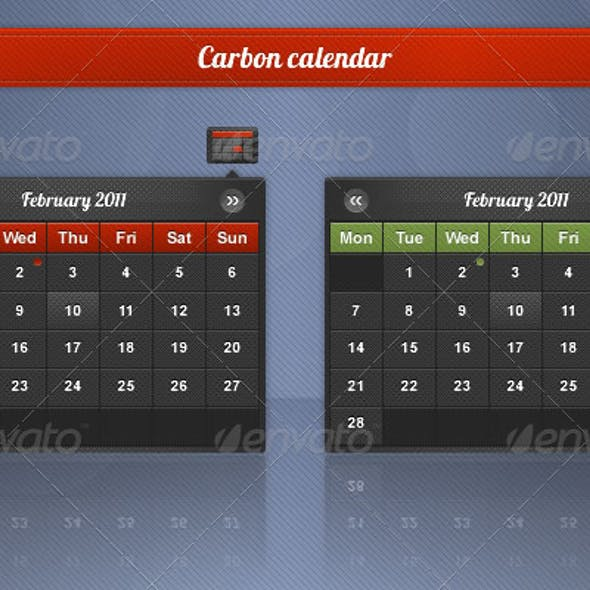 Carbon Date Picker