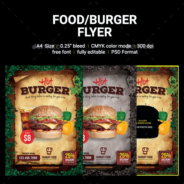 Food/Burger Flyer
