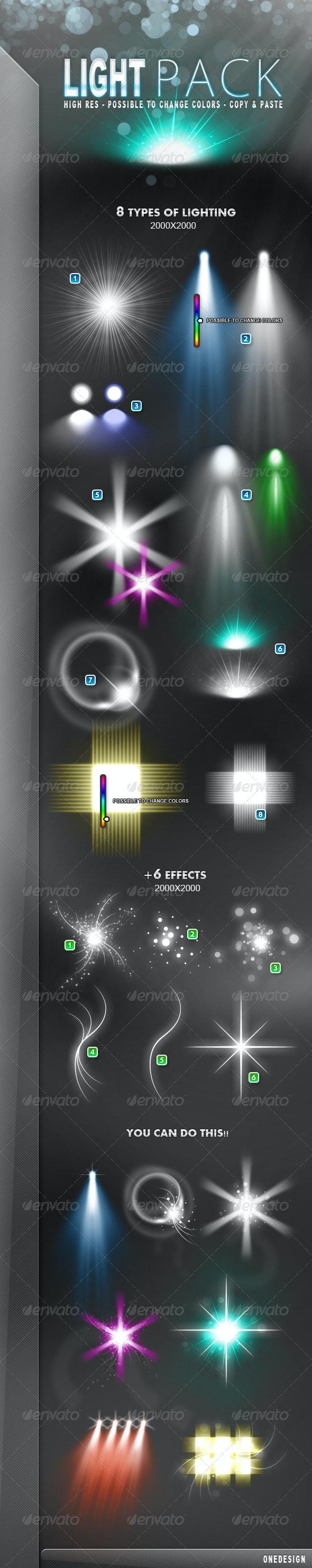 Light Pack - Decorative Graphics