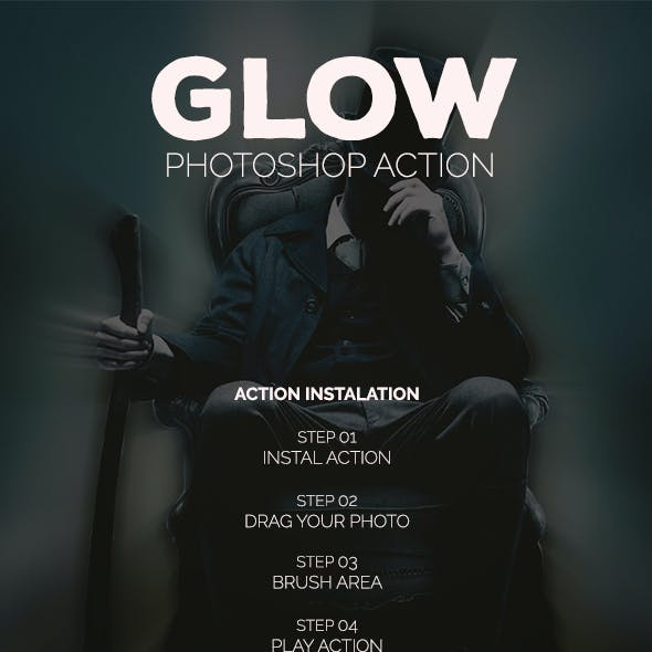 Glow - Photoshop Action #65
