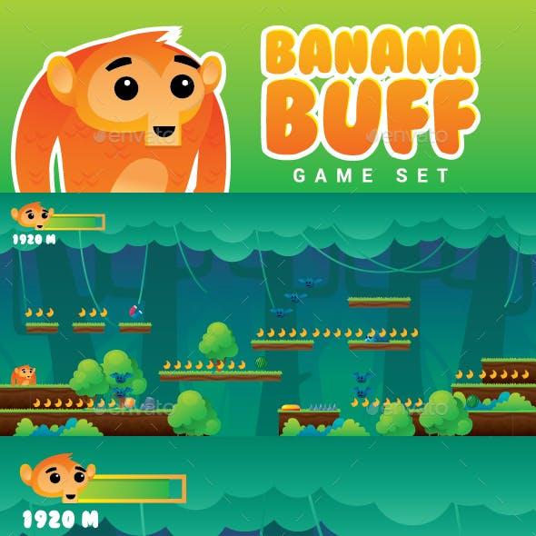 Monkey Banana Buff Game Set